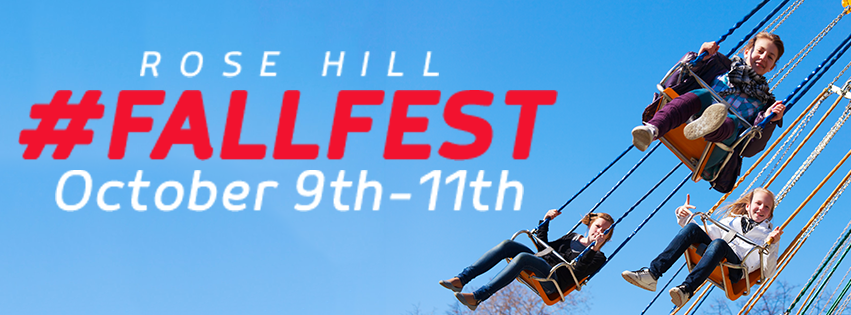 2015 Rose Hill Fall Festival, Oct 9th-11th