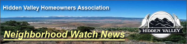 HVHA Neighborhood Watch Program