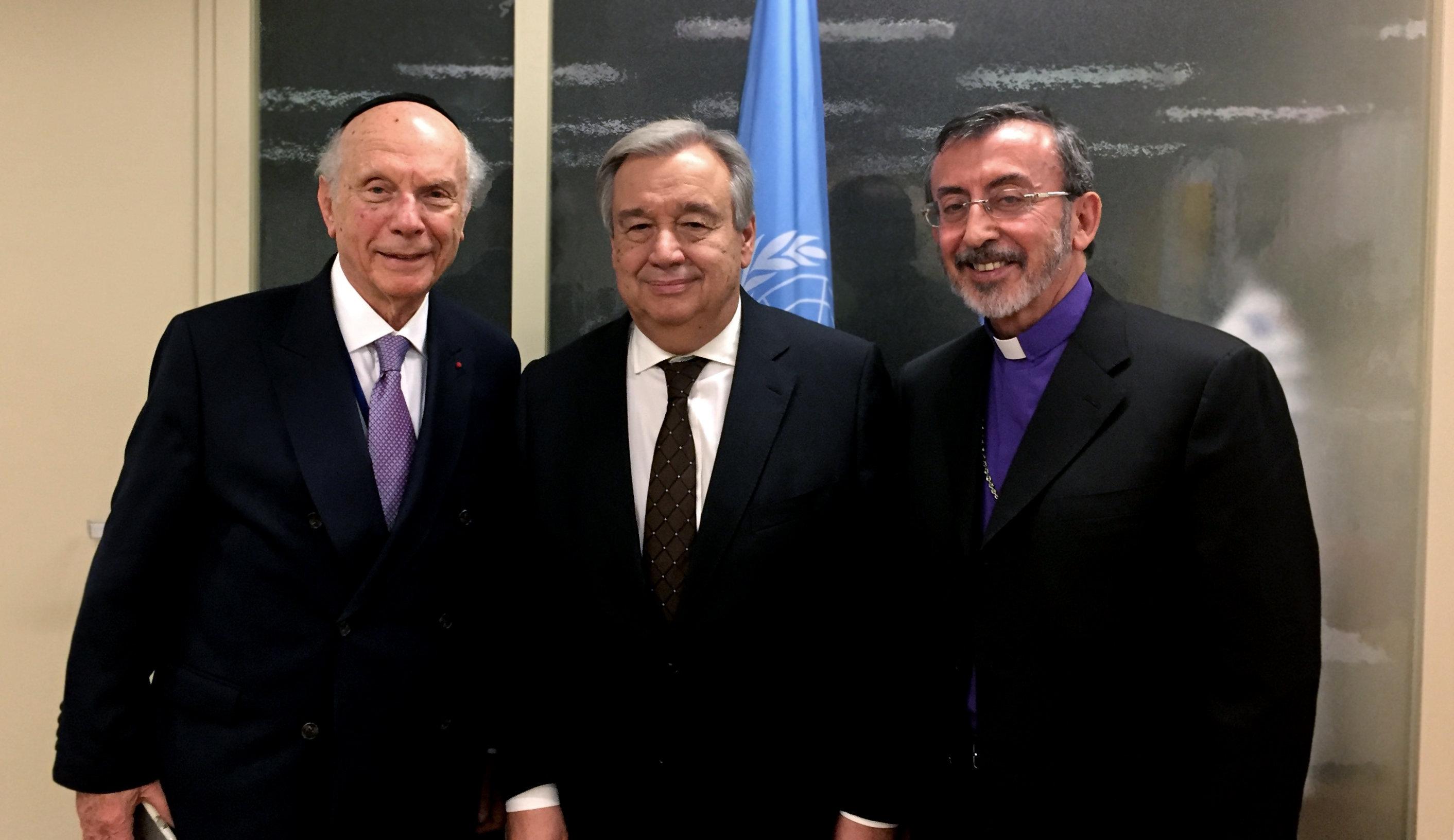 Primate Visits UN