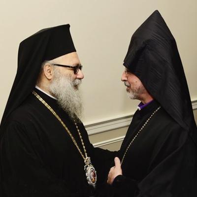 Antiochian Patriarch in New York City