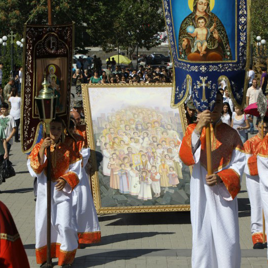 Holy Martyrs Icon in Yerevan