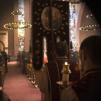 Christmas Servicese at St. Vartan Armenian Cathderal