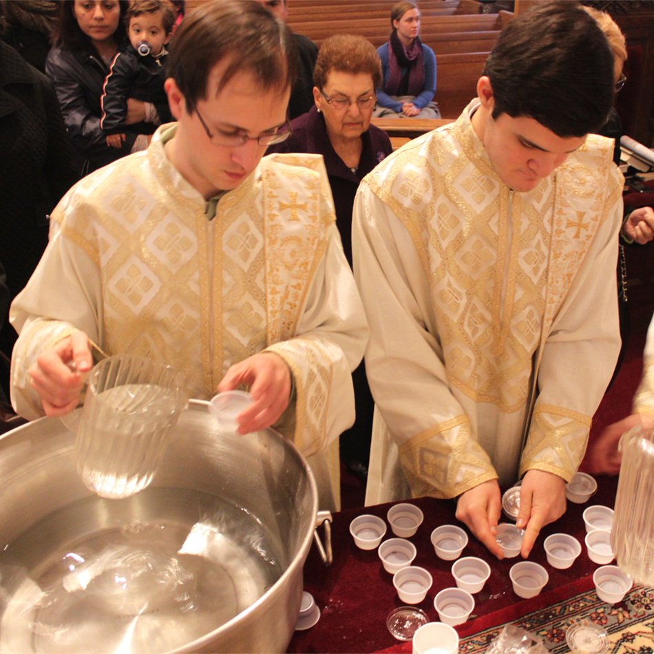 Water Blessing Service across the Eastern Diocese