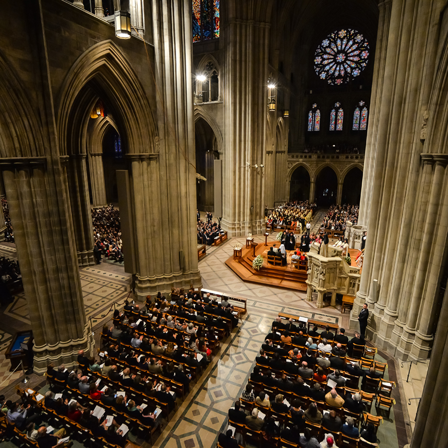 Ecumenical Service at the National Cathedral, Washington, DC