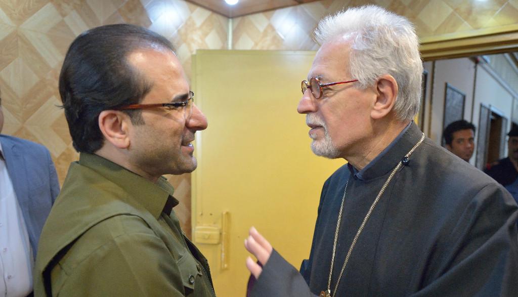 Archbishop Aykazian Visits Iraq