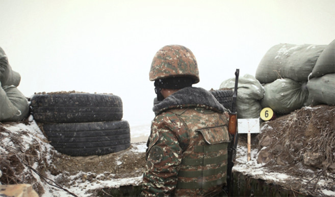 Praying for Armenian Soldiers