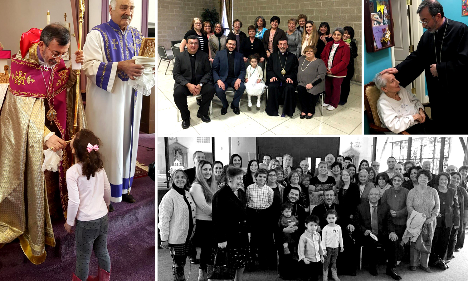 Primate Visits St. March Church, Sprigfield, MA