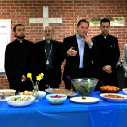 St. Nersess Visits Trumbull Church