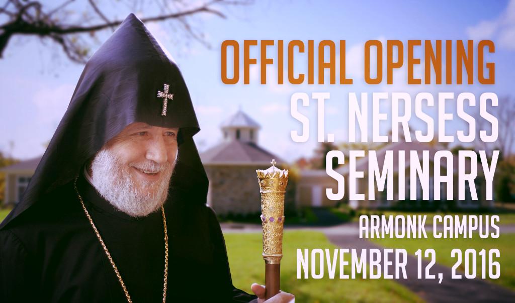 St. Nersess Seminary Opening