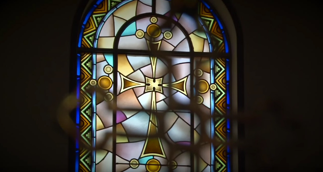 Prayer at Holy Trinity Church, PA