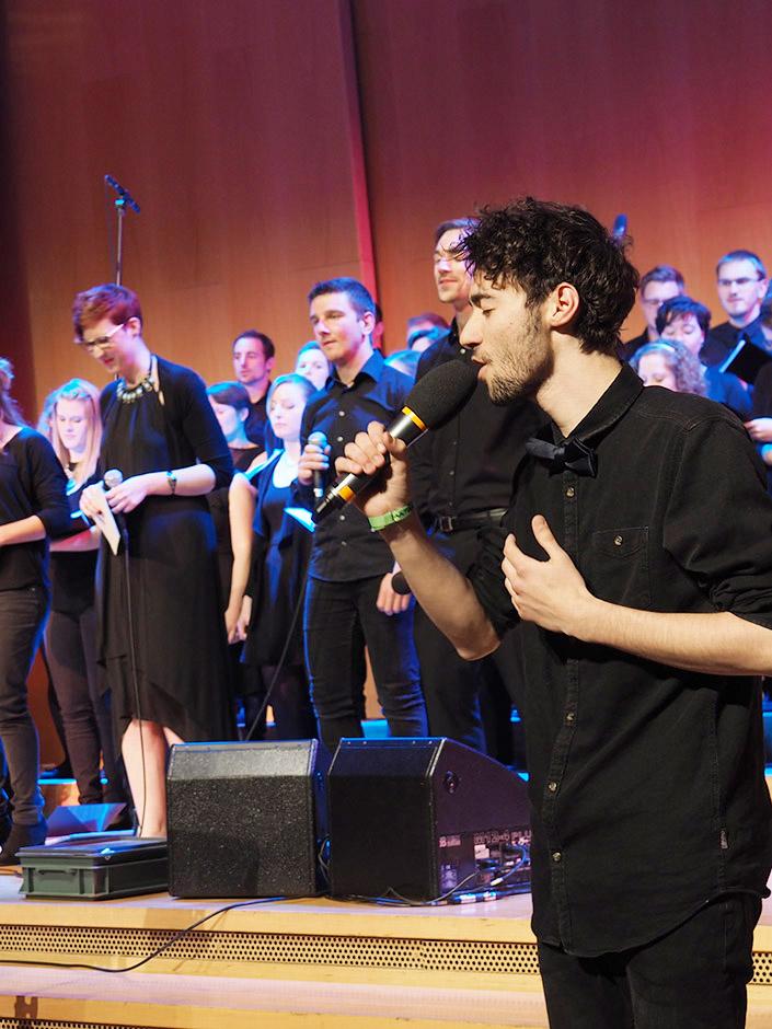 Sing for Joy! tsc-Chorkonzert am 5. und 6. Mai 2018
