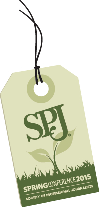 SPJ spring conference logo