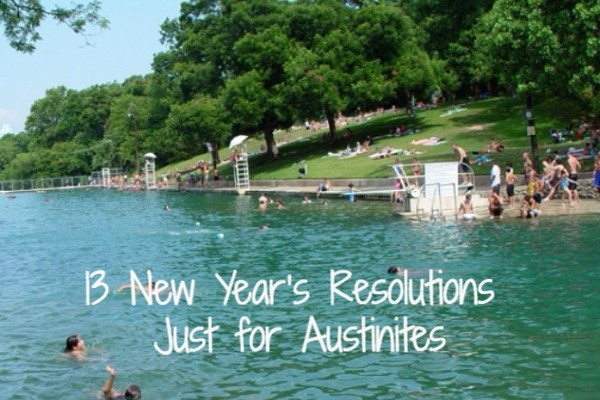 13 New Year's resolutions made just for Austinites