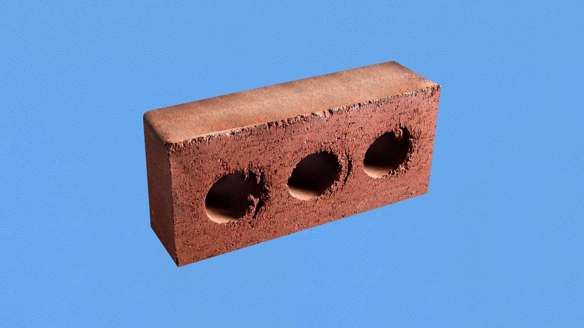 Une brique de construction