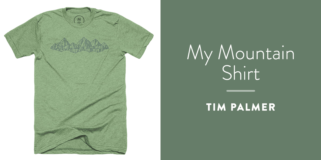 My Mountain Shirt by Tim Palmer