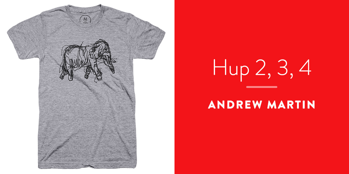 Hup 2, 3, 4 by Andrew Martin