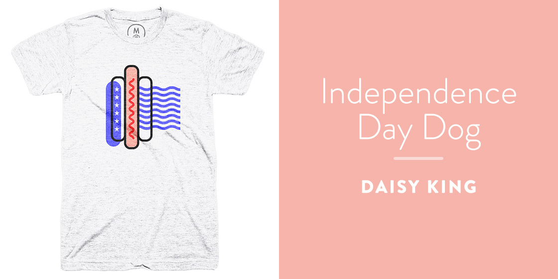 Independence Day Dog by Daisy King