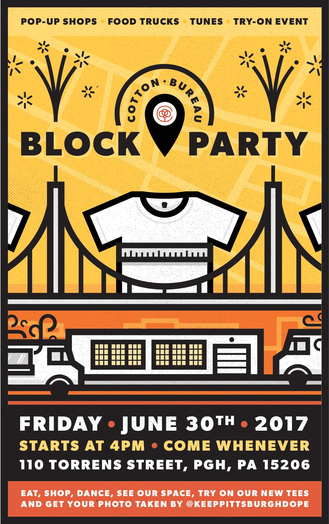 The Cotton Bureau Block Party