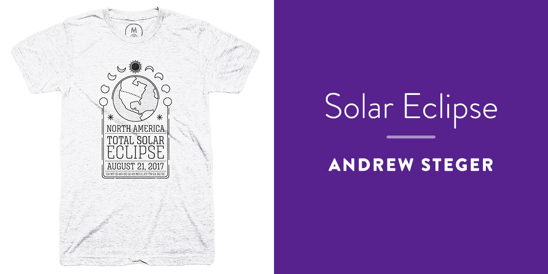 Solar Eclipse by Andrew Steger