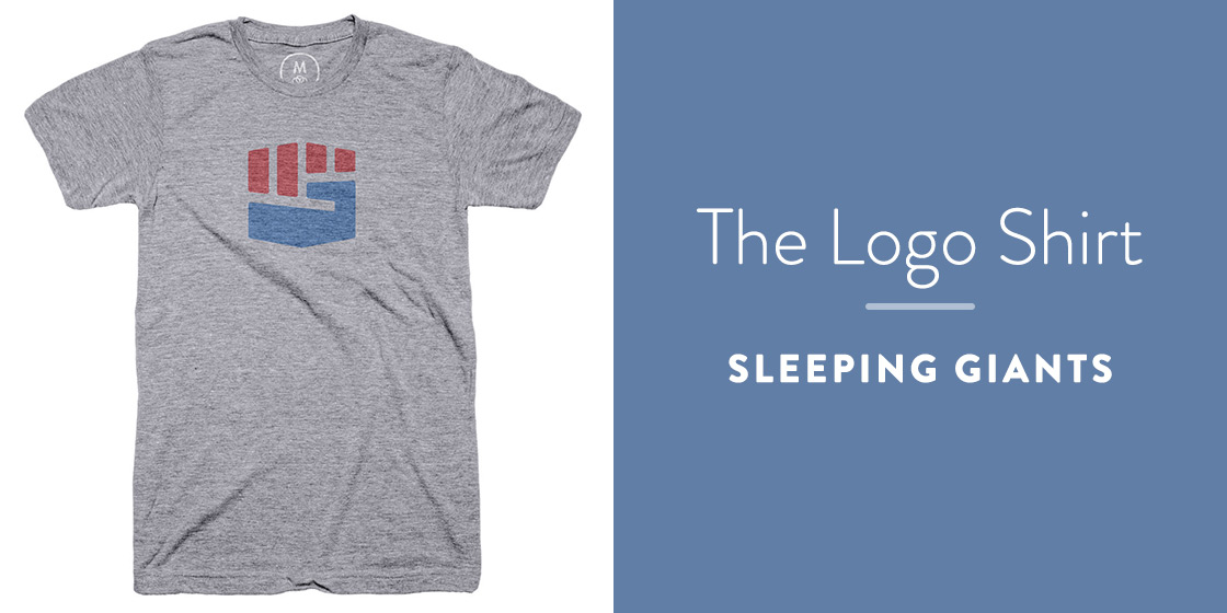 The Logo Shirt by Sleeping Giants