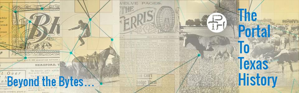 Portal to Texas History news image banner