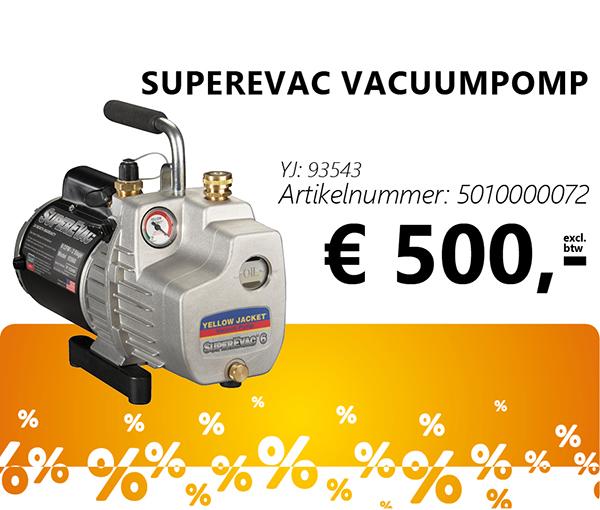SuperEvac vacuumpomp
