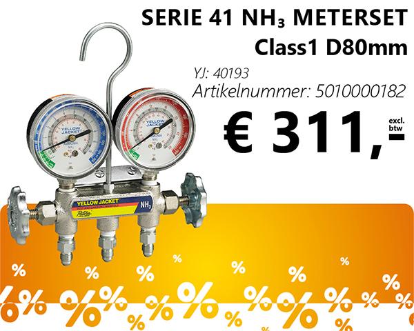 Serie 41 NH₃ meterset Class1 D80mm