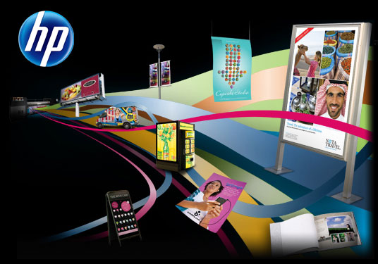 HP at FESPA 2011