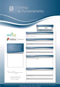 Licença de funcionamento ARS / ERS