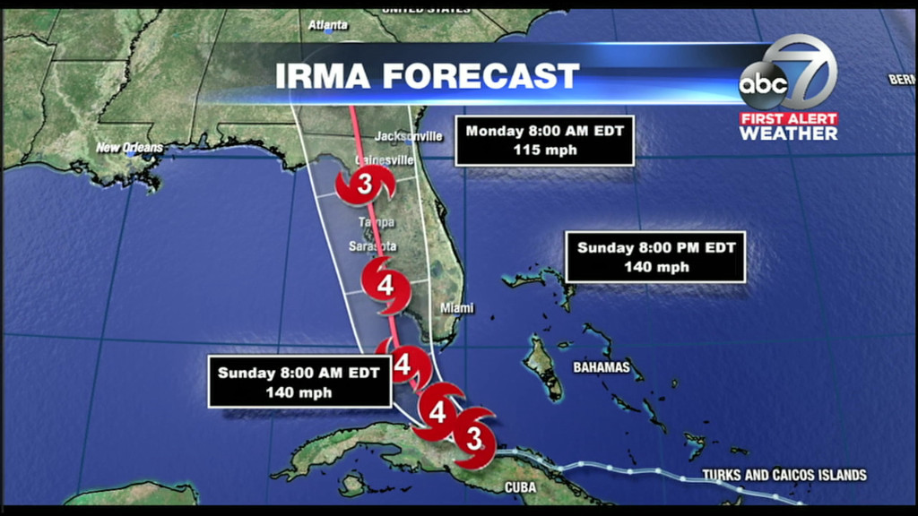 WWSB Live coverage of Hurricane Irma shared on the Raycom News Network with Field59