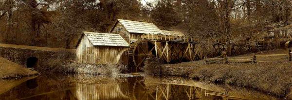 Grist Mill, Virginia, USA