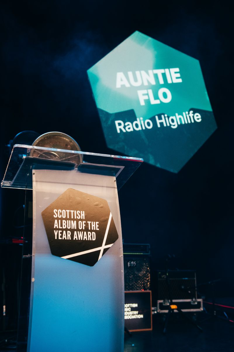 AUNTIE FLO WIN SCOTTISH ALBUM OF THE YEAR