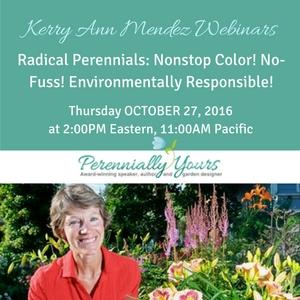 kerry ann mendez radical perennials webinar