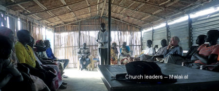 Malakal Church Leaders