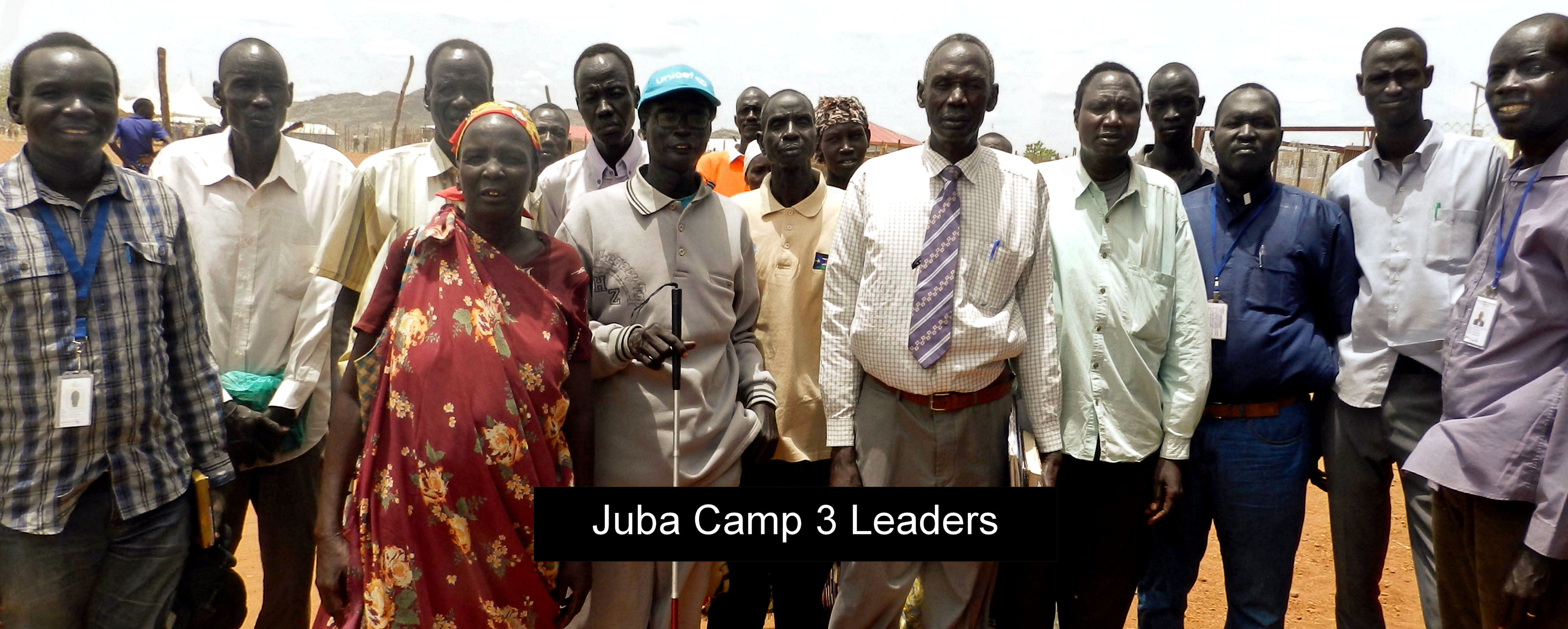 Juba Camp 3 Leaders