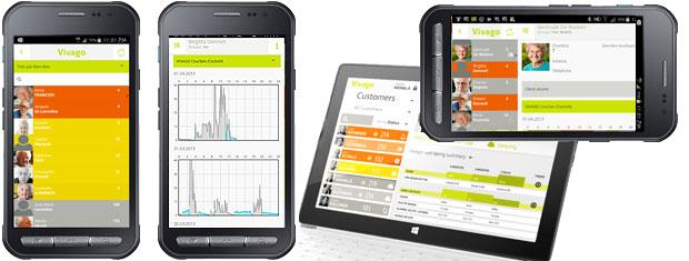 Vivago Vista application mobile et tablette