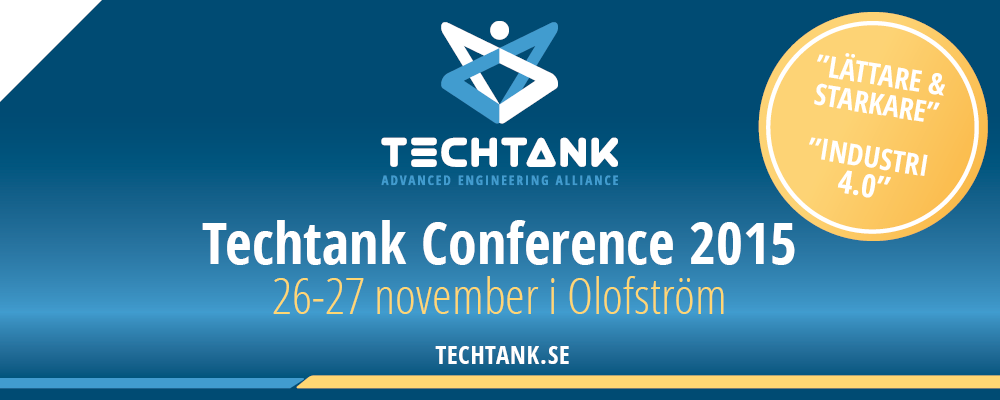 Techtank Conference 26-27 november