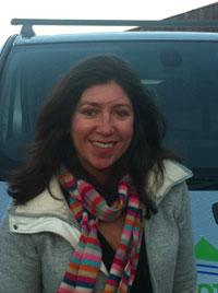 New member of staff, Pam Harvey