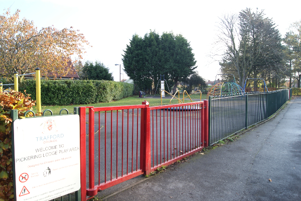Over 5s play area