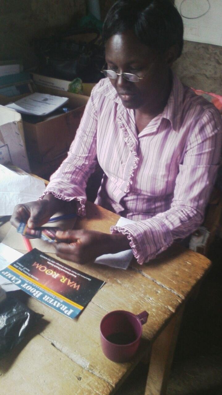 Prayer Boot Camp Advertising Cards Used in Kenya