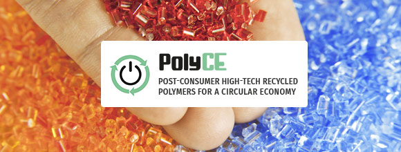 Welcome to the PolyCE Project - Enabling recycling of plastics from electronic waste