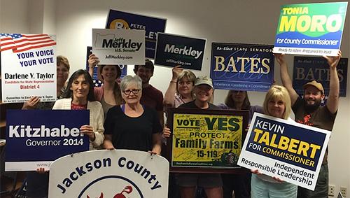 Jackson County Democrats Needs Volunteers
