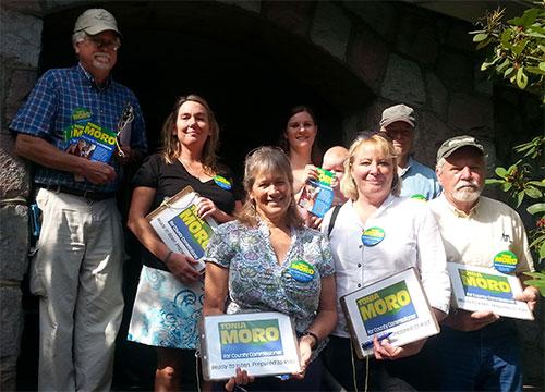 Tonia Moro's Volunteer Canvassers
