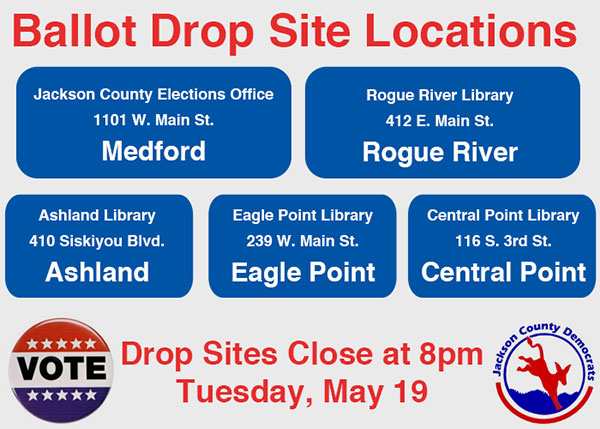 Ballot Drop Site Locations