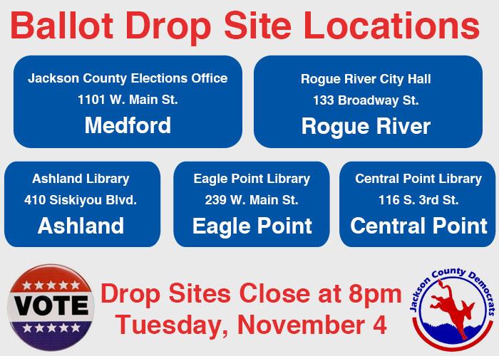 Ballot Drop Sites