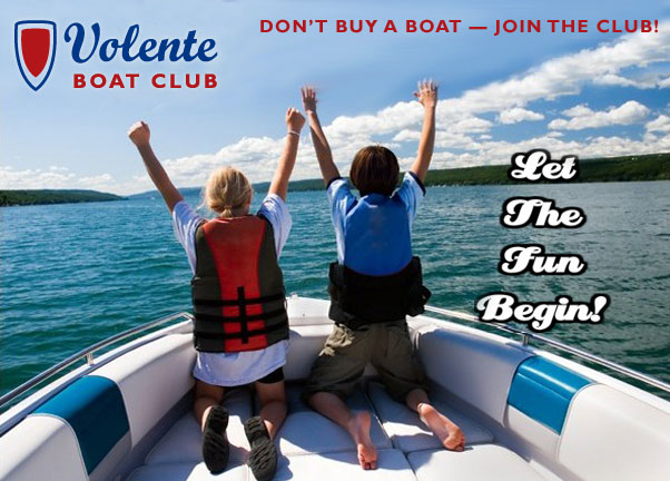 Volente Boat Club - Don't buy a boat -- join the club!