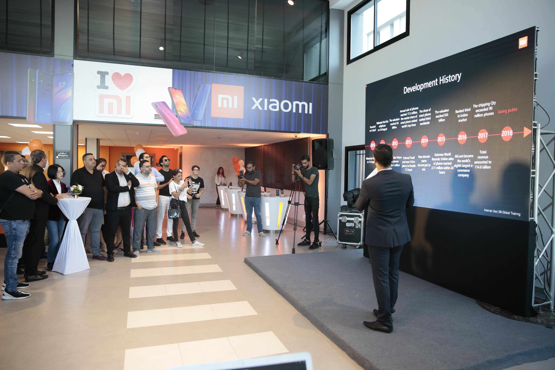 Photo d'équipe fans MI Pro2i Xiaomi
