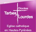 Logo du diocèse de Tarbes et Lourdes