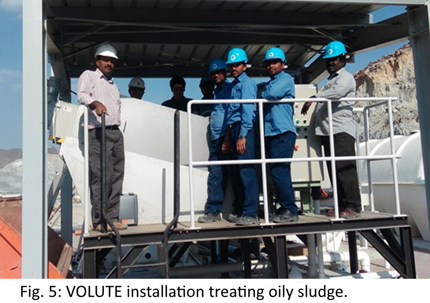 Volute installation