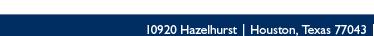 10920 Hazelhurst Houston, Texas 77043